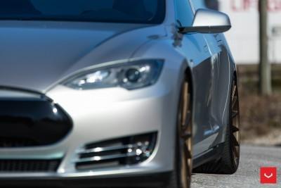 2013 Tesla Model S P85+ - Vossen VFS-2 Wheels -_25960631876_o