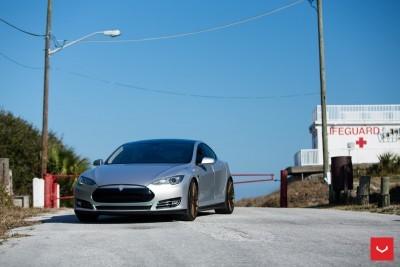 2013 Tesla Model S P85+ - Vossen VFS-2 Wheels -_25960632676_o