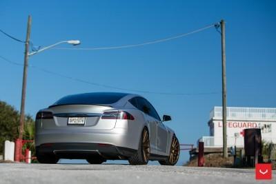 2013 Tesla Model S P85+ - Vossen VFS-2 Wheels -_25986539455_o