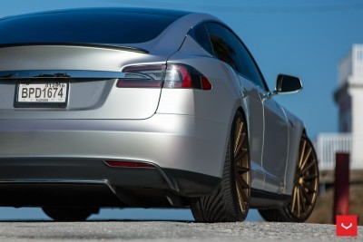 2013 Tesla Model S P85+ - Vossen VFS-2 Wheels -_25986539745_o