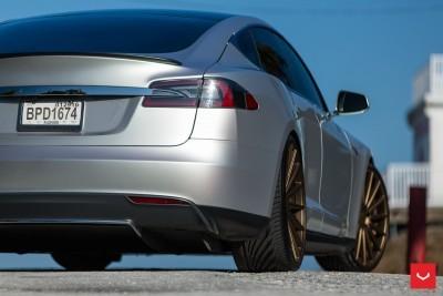 2013 Tesla Model S P85+ - Vossen VFS-2 Wheels -_25986539745_o