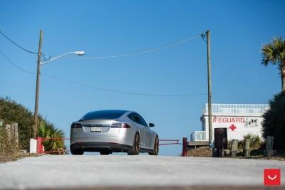 2013 Tesla Model S P85+ - Vossen VFS-2 Wheels -_25986540165_o