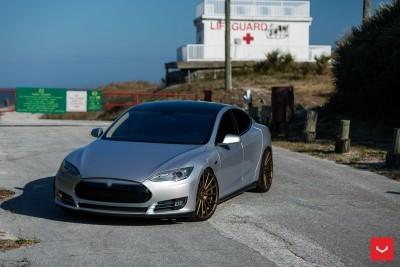 2013 Tesla Model S P85+ - Vossen VFS-2 Wheels -_25986541385_o