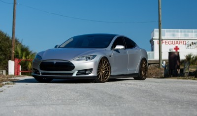 2013 Tesla Model S P85+ - Vossen VFS-2 Wheels -_25986541685_o