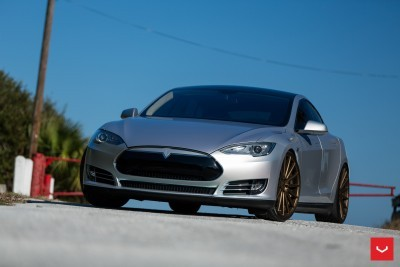 2013 Tesla Model S P85+ - Vossen VFS-2 Wheels -_25986542155_o