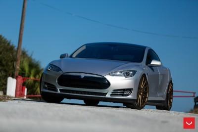 2013 Tesla Model S P85+ - Vossen VFS-2 Wheels -_25986542155_o