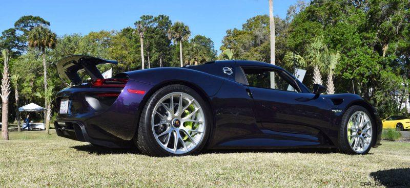 2015 Porsche 918 Spyder - Viola Black 20