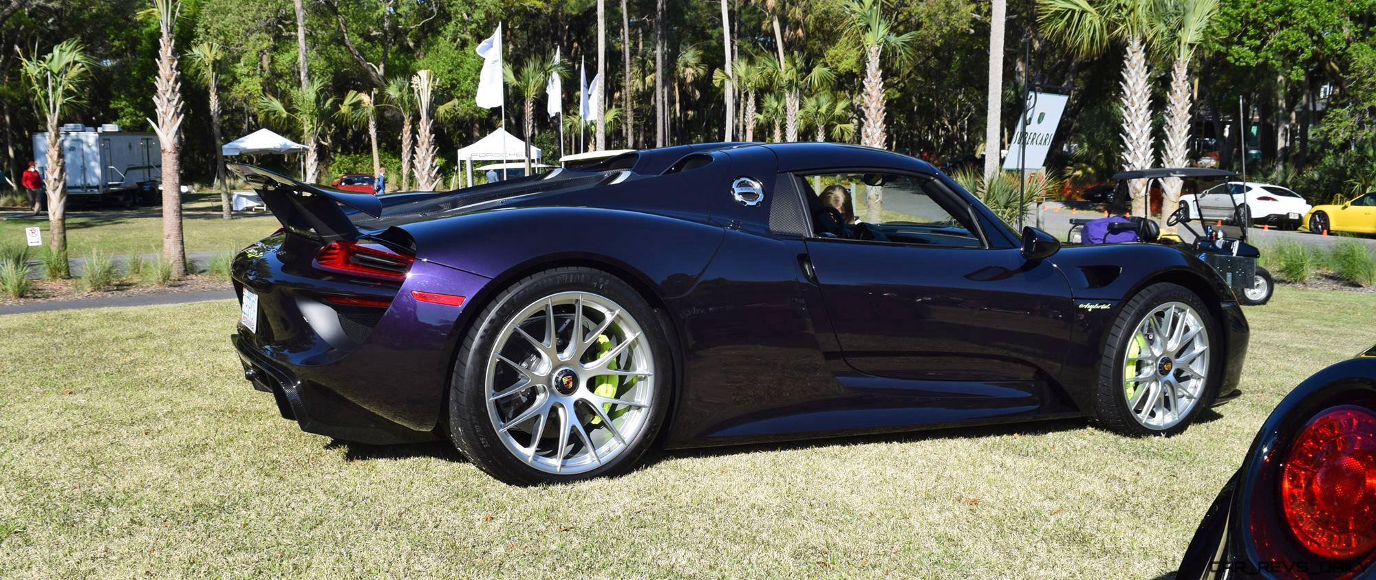 2015 Porsche 918 Spyder Viola Black 21