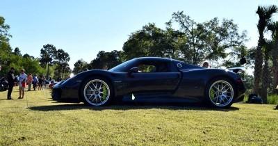 2015 Porsche 918 Spyder - Viola Black 3