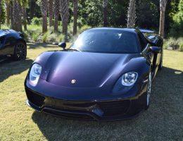 Kiawah 2016 Highlights – 2015 Porsche 918 Spyder – Viola Black Paint-to-Sample