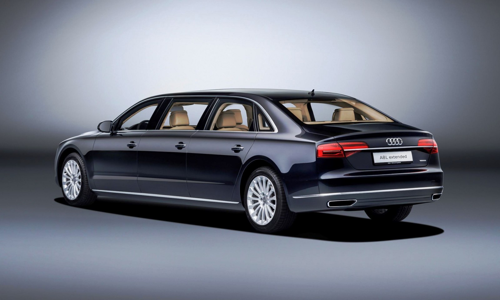 2016 audi a8l extended length six door six seat megalux. Black Bedroom Furniture Sets. Home Design Ideas