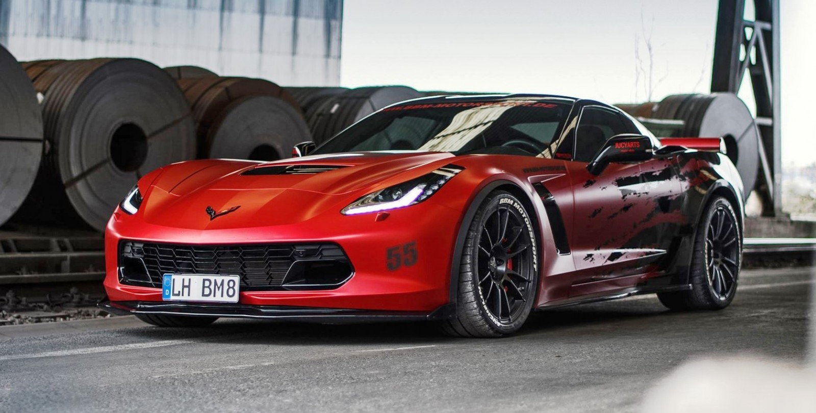 2016 chevrolet corvette z06 by bbm motorsport hear the 700hp blackbooty 39 s capristo exhaust. Black Bedroom Furniture Sets. Home Design Ideas