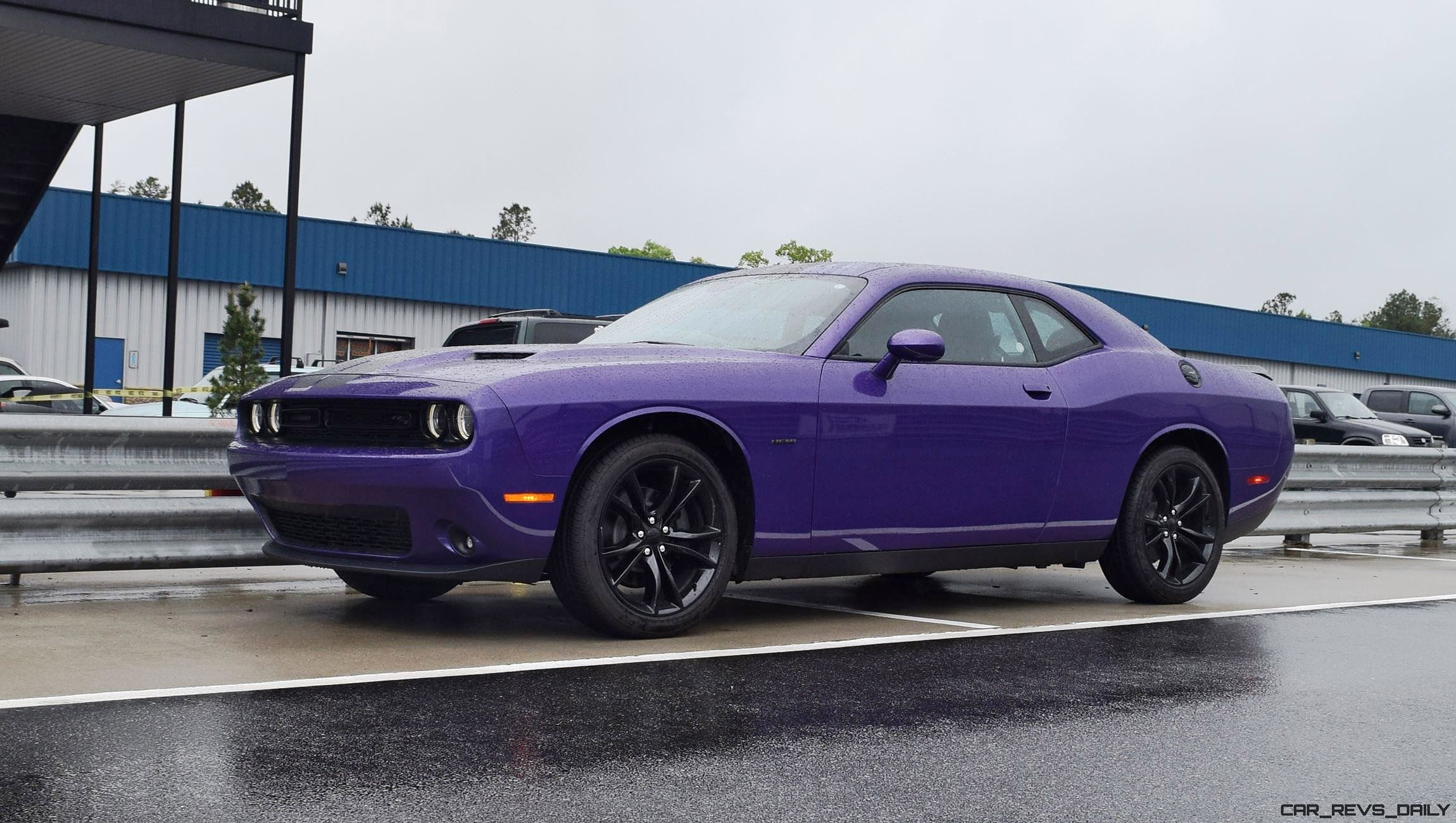 plum crazy 2016 dodge challenger r t xtremexperience wet track laps are mesmerizing w hd video. Black Bedroom Furniture Sets. Home Design Ideas