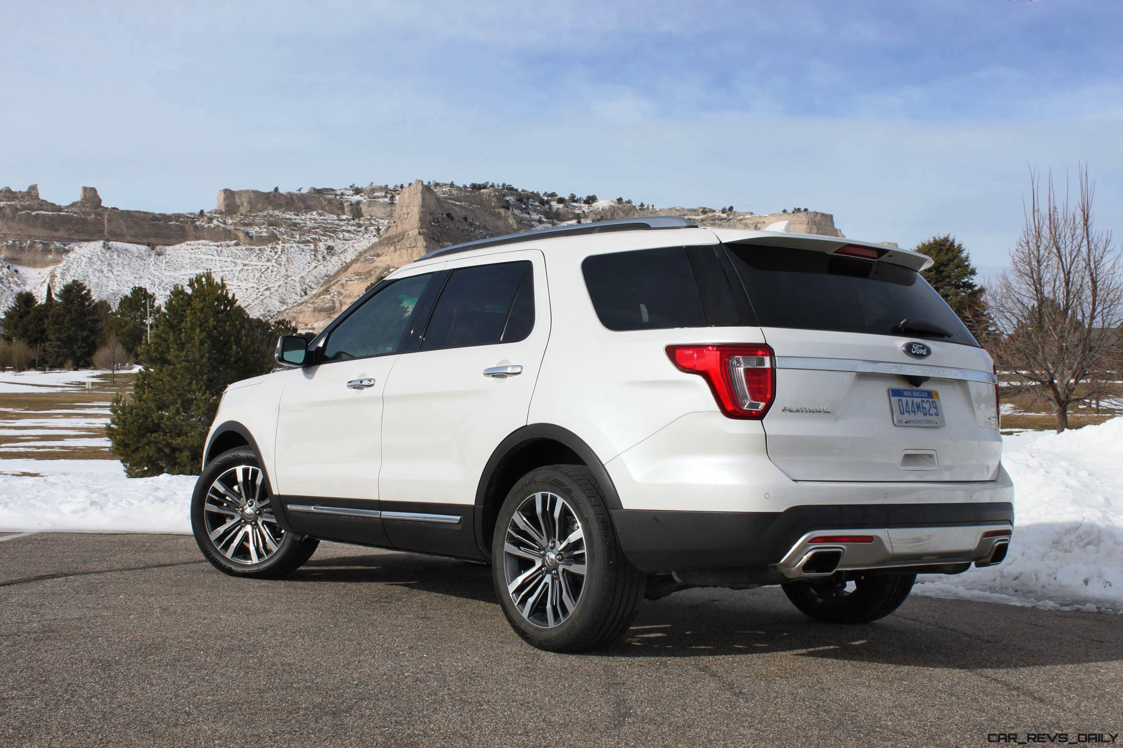 Road Test Review - 2016 Ford Explorer Platinum with Tim Esterdahl