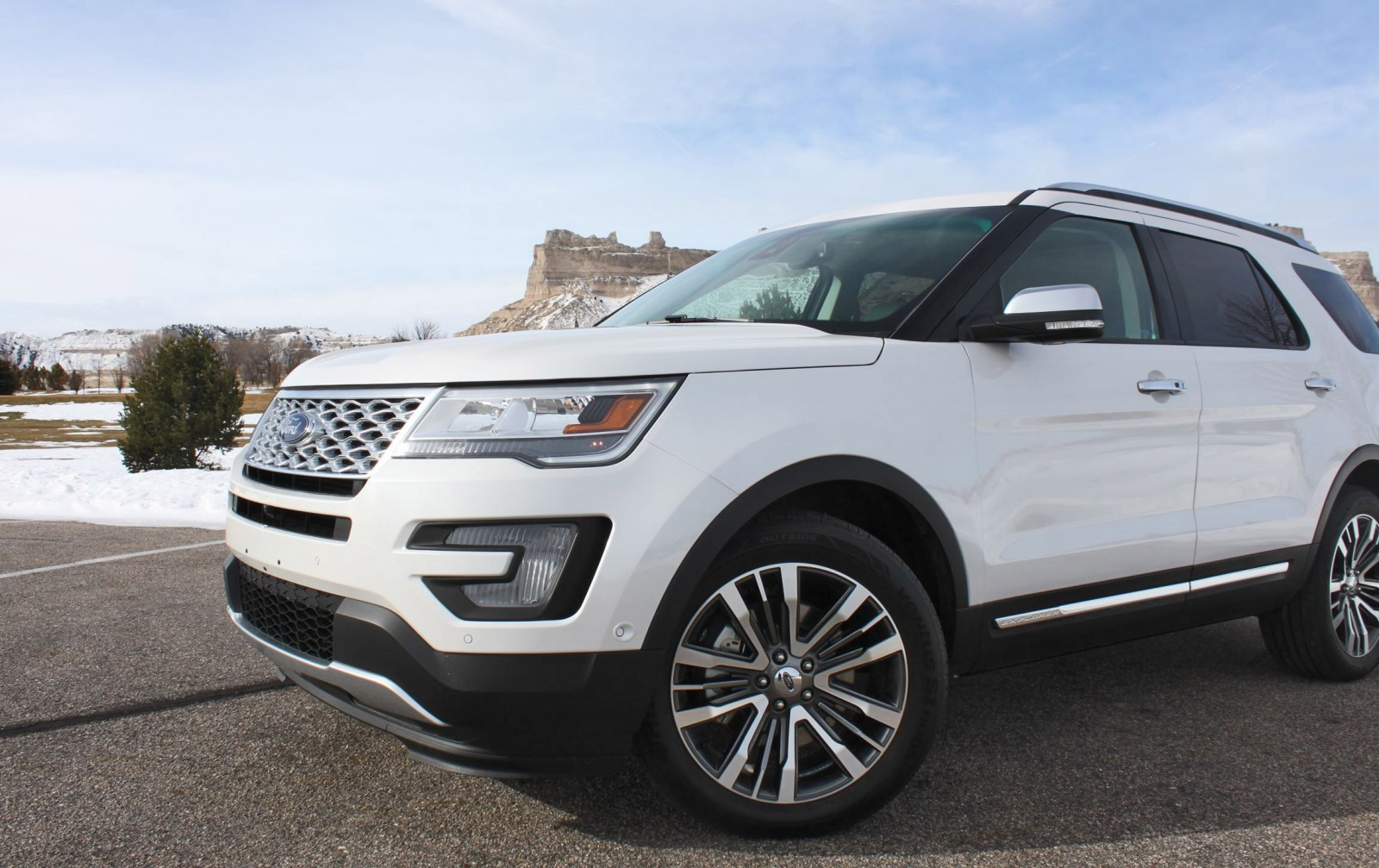 Road Test Review - 2016 Ford Explorer Platinum with Tim ...