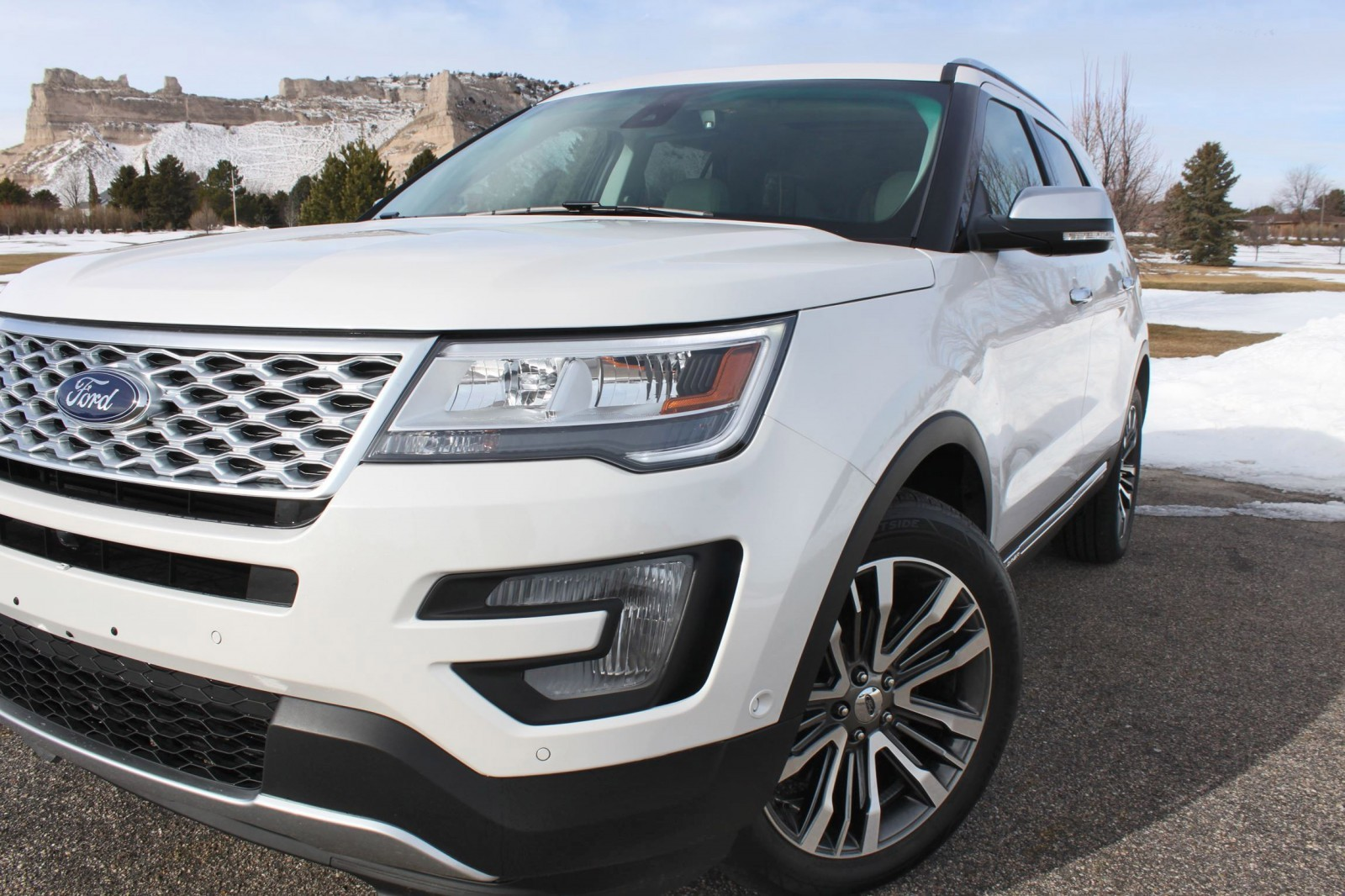 road test review   2016 ford explorer platinum with tim