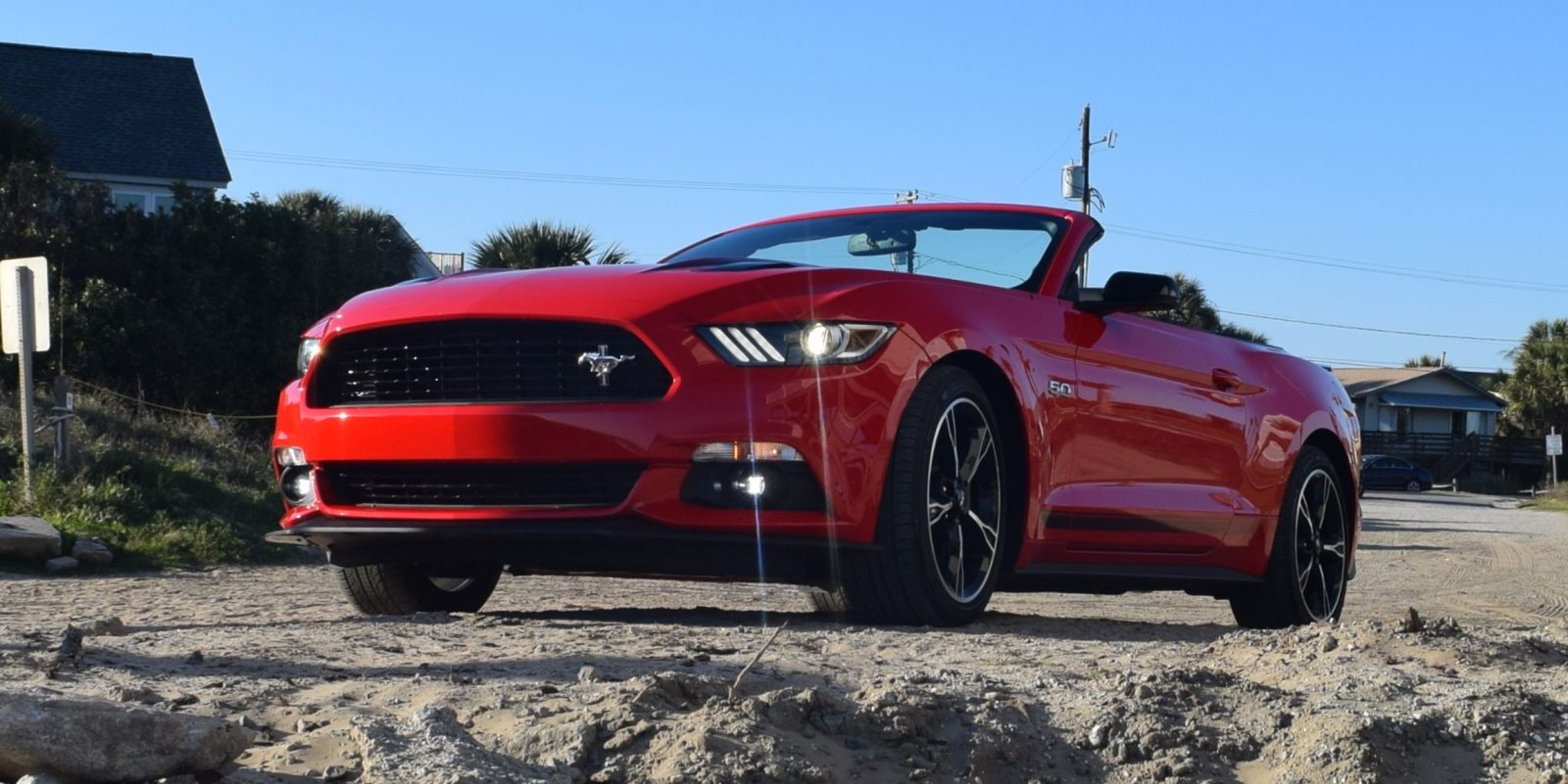 hd road test review 2016 ford mustang gt california special w videos. Black Bedroom Furniture Sets. Home Design Ideas
