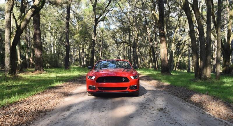 2016 Ford Mustang GT Convertible Botany Bay 1
