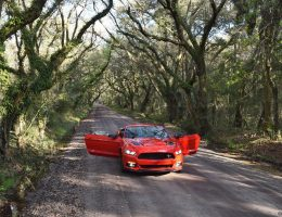 Travel Adventures – 2016 Ford Mustang GT California Special Visits Botany Bay, SC (+Video, 50 Photos)