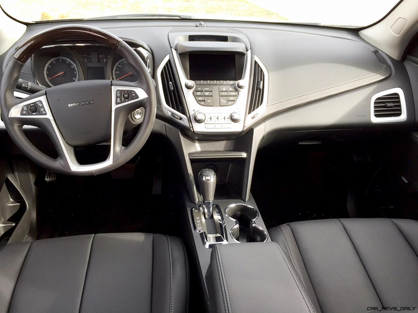 dashboard all new gmc terrain review interior reviews