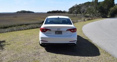 2016 Hyundai SONATA SPORT 2.0T Quartz White 13