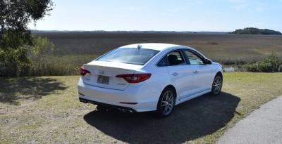 2016 Hyundai SONATA SPORT 2.0T Quartz White 15