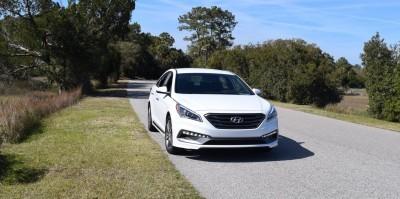 2016 Hyundai SONATA SPORT 2.0T Quartz White 26
