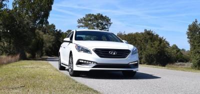 2016 Hyundai SONATA SPORT 2.0T Quartz White 27