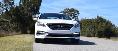 2016 Hyundai SONATA SPORT 2.0T Quartz White 28