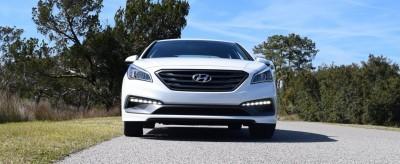 2016 Hyundai SONATA SPORT 2.0T Quartz White 29