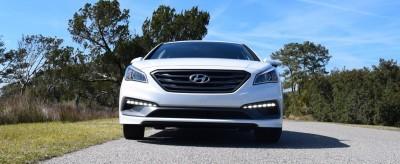 2016 Hyundai SONATA SPORT 2.0T Quartz White 30