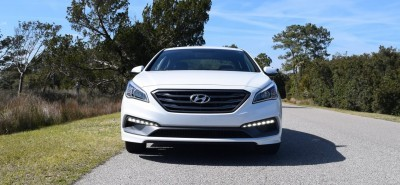 2016 Hyundai SONATA SPORT 2.0T Quartz White 31