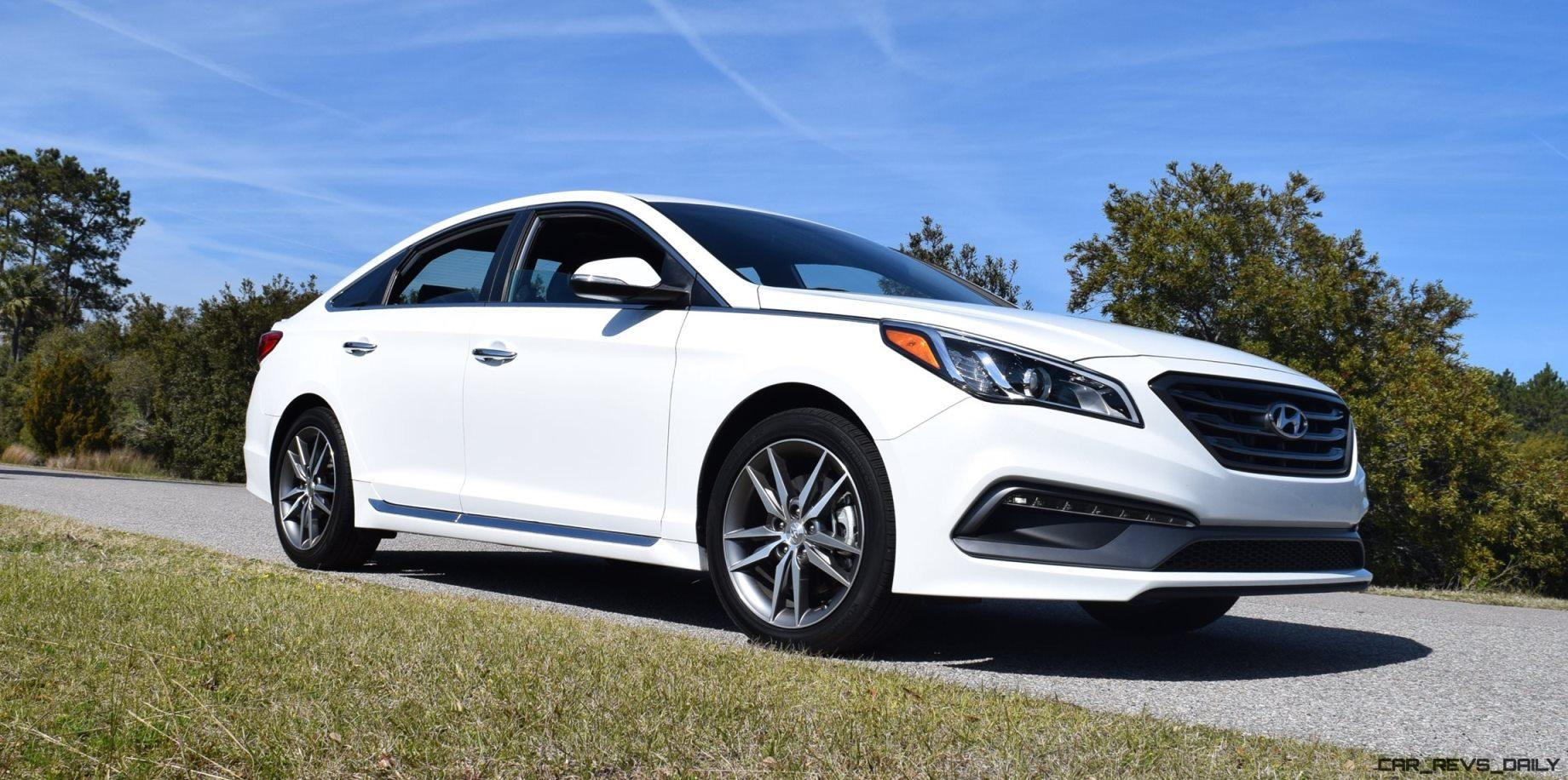 hd road test review 2016 hyundai sonata sport 2 0t drive video. Black Bedroom Furniture Sets. Home Design Ideas
