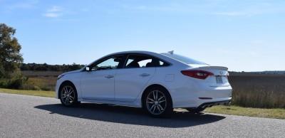 2016 Hyundai SONATA SPORT 2.0T Quartz White 39