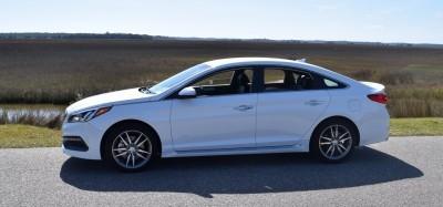 2016 Hyundai SONATA SPORT 2.0T Quartz White 41