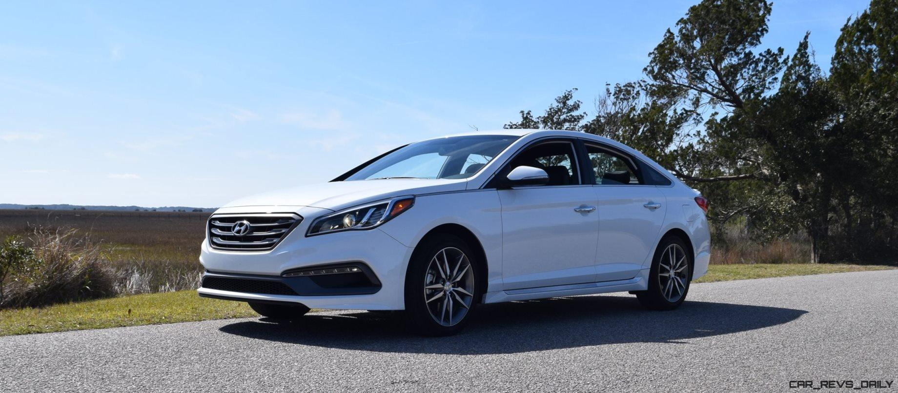 2016 hyundai sonata sport 2 0t quartz white 48 car revs. Black Bedroom Furniture Sets. Home Design Ideas