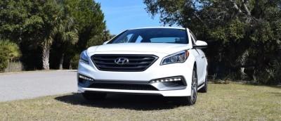 2016 Hyundai SONATA SPORT 2.0T Quartz White 48
