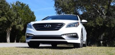 2016 Hyundai SONATA SPORT 2.0T Quartz White 49