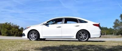 2016 Hyundai SONATA SPORT 2.0T Quartz White 5