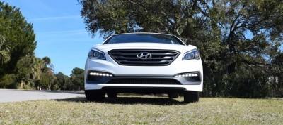 2016 Hyundai SONATA SPORT 2.0T Quartz White 50