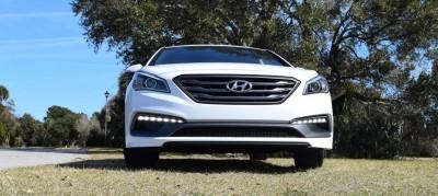 2016 Hyundai SONATA SPORT 2.0T Quartz White 51