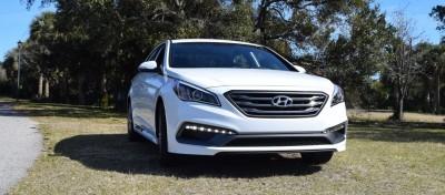 2016 Hyundai SONATA SPORT 2.0T Quartz White 53