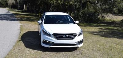 2016 Hyundai SONATA SPORT 2.0T Quartz White 54