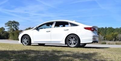 2016 Hyundai SONATA SPORT 2.0T Quartz White 6