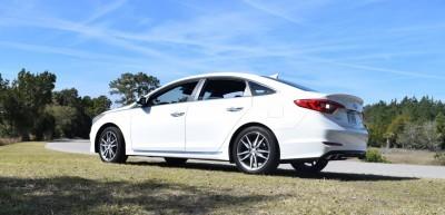 2016 Hyundai SONATA SPORT 2.0T Quartz White 7