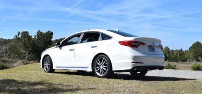 2016 Hyundai SONATA SPORT 2.0T Quartz White 8