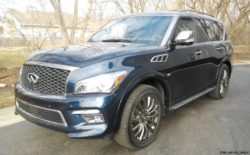 2016 INFINITI QX80 Limited AWD Review - EXTERIOR PHOTOS 5
