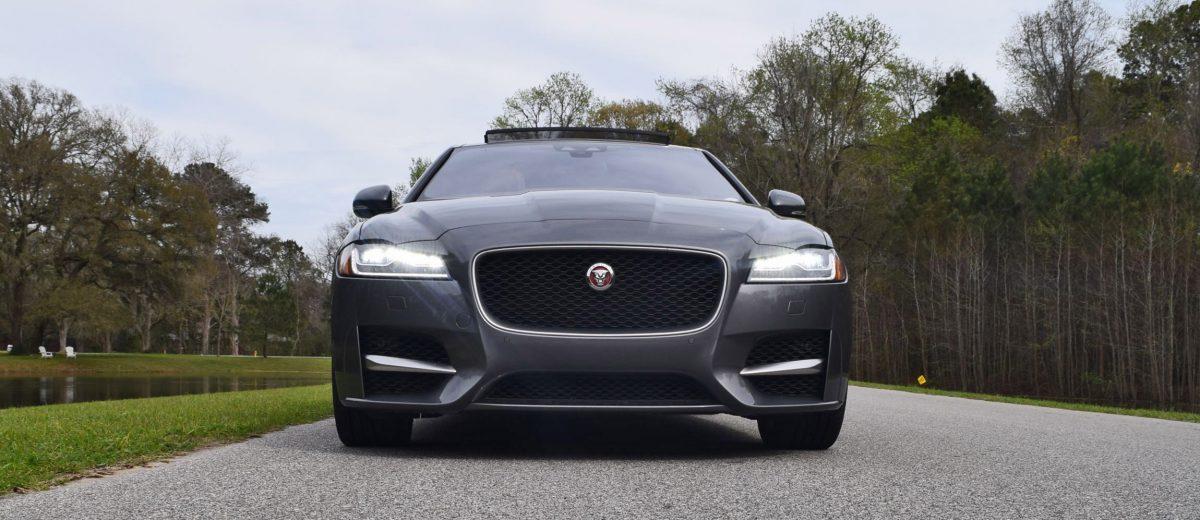 hd road test review 2016 jaguar xf 35t r sport rwd. Black Bedroom Furniture Sets. Home Design Ideas