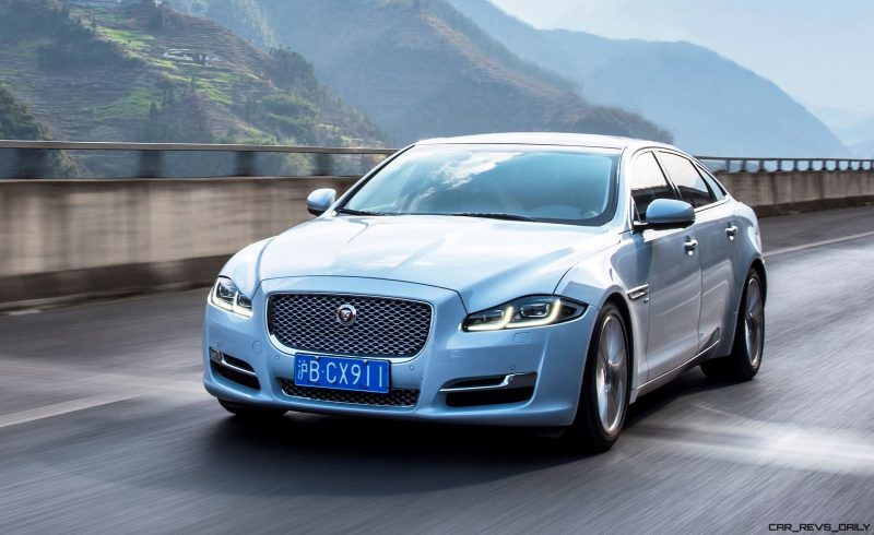 2016 Jaguar XJ Skyroad Paxi Expressway China 1