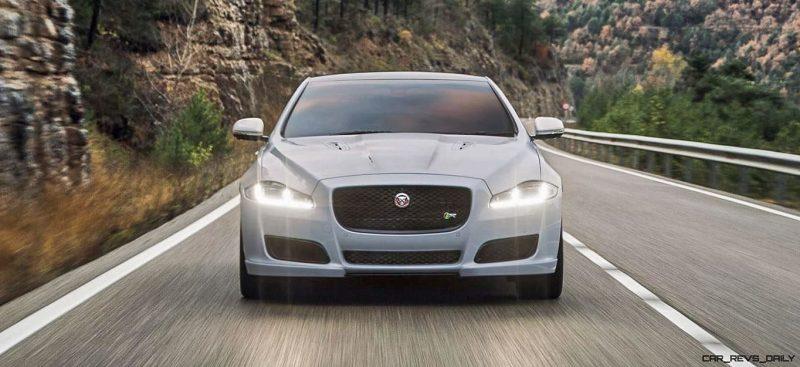 2016 Jaguar XJ Skyroad Paxi Expressway China 19